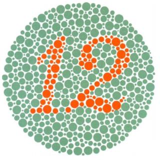 tự kiểm tra mù màu hình 1